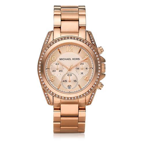 024c31879 Relógio Feminino Michael Kors Analógico OMK5263/Z Rose