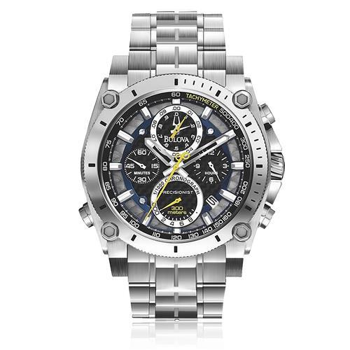 a22bb0c42 Relógio Masculino Bulova Precisionist Analógico WB31603T Aço