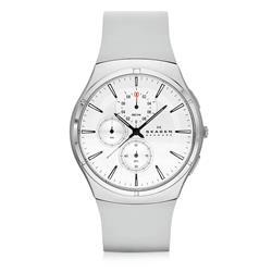 Relógio Masculino Skagen Analógico SKW6132/Z Borracha