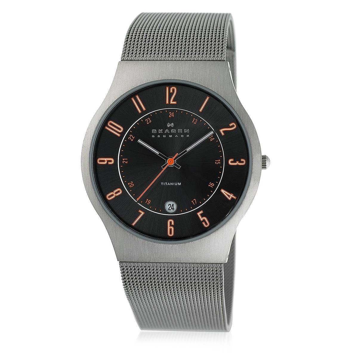 Relógio Masculino Skagen Titanium Analógico 233XLTTMO Z Pulseira Esteira 625951b979