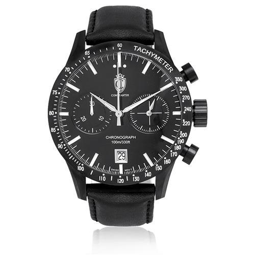 ce173e46633 Relógio Constantim Chronograph All Black