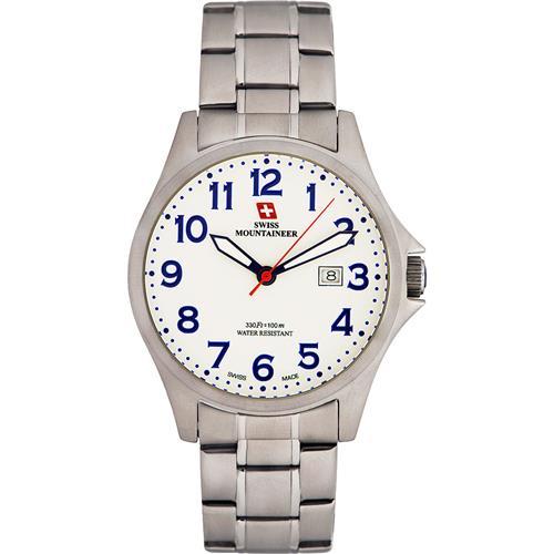 4058c4647b4 Relógio Masculino Swiss Mountaineer Classic Ref SML8031