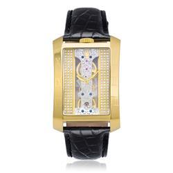 85b0f063c6d Relógio Constantim London Tower Black Gold Analógico.