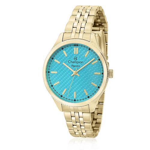 c47175ee839 Relógio Feminino Champion Elegance Analógico CN27527F Dourado