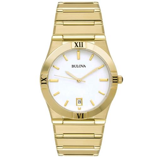 09faeba1934 Relógio Masculino Bulova WB21267H Dourado