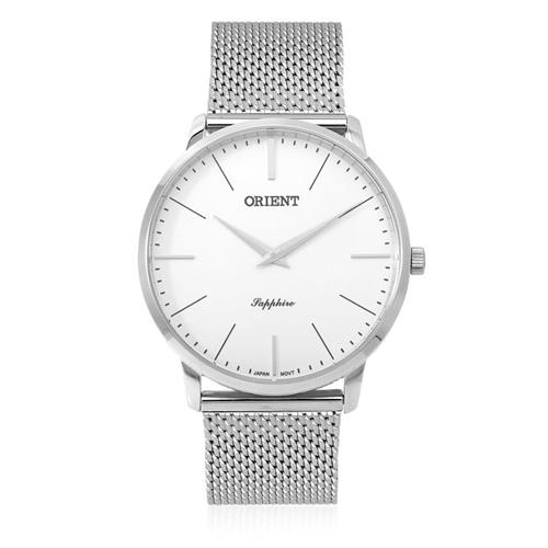 4d68e76525b Relógio Masculino Orient Slim Sapphire Analógico MBSSS007 S1SX Aço