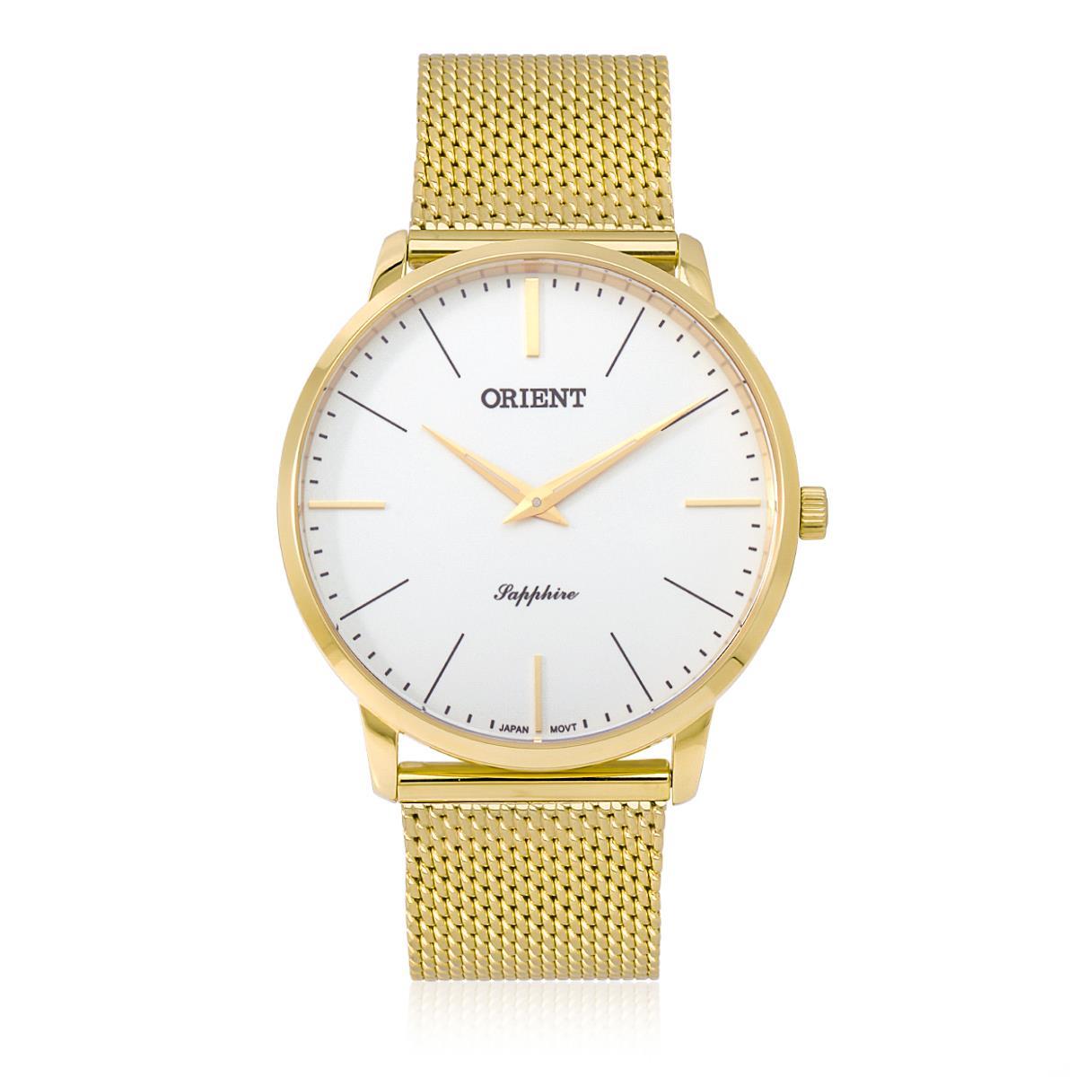 755a7a95b0a Relógio Orient Slim Sapphire