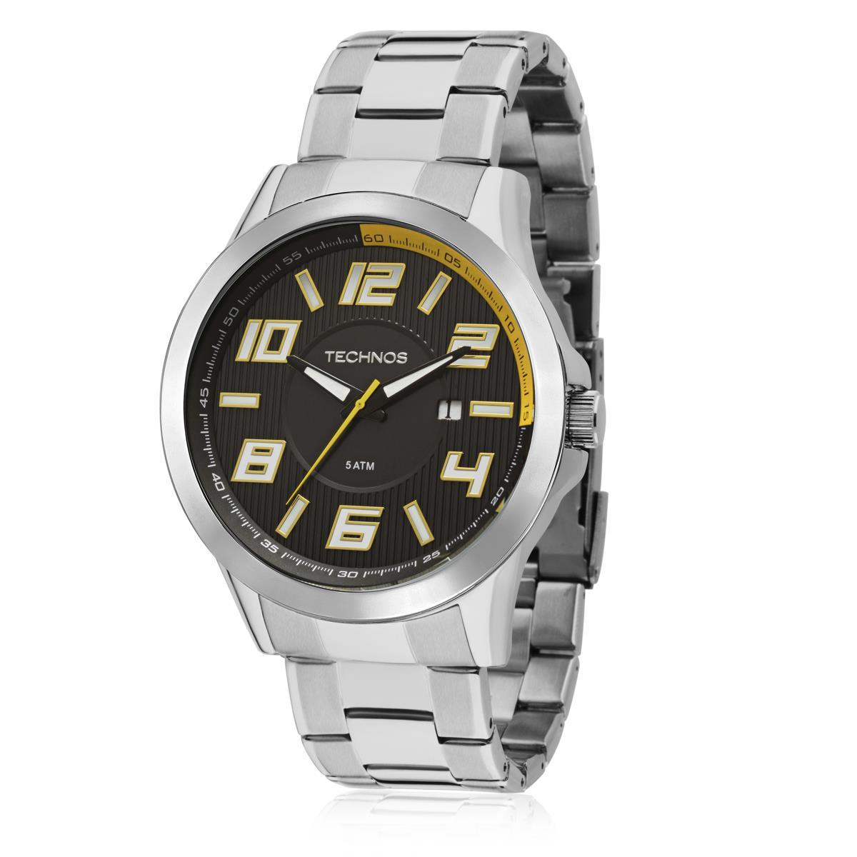 736802082e4 Relógio Masculino Technos Performance Racer Analógico 2115KNE 1Y em aço