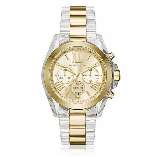 53c030462c841 Relógio Feminino Michael Kors Analógico MK6319 5DN Fundo Dourado