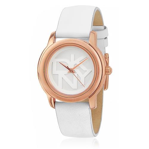 b674ccdc0dc Relógio Feminino DKNY Analógico NY8802 Couro Branco