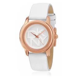 102476921fe Relógio Feminino DKNY Analógico NY8802 Couro Branco