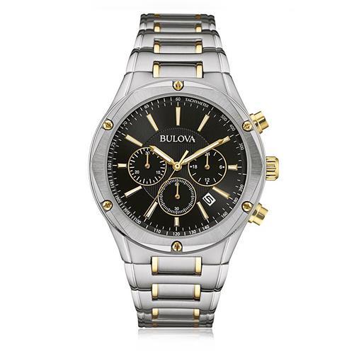 72e72215af2 Relógio Masculino Bulova Analógico WB22408P Fundo Preto