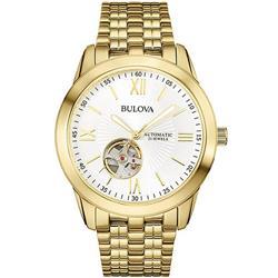 0c2c3bded6f Relógio Masculino Bulova Automatic WB32004H Dourado