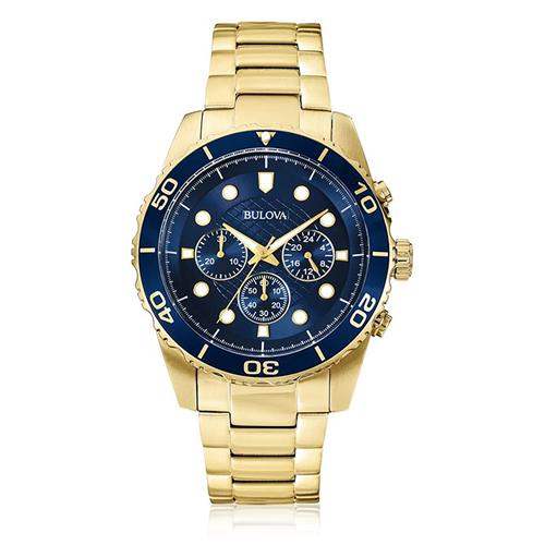 Relógio Masculino Bulova Analógico WB31989Z Dourado