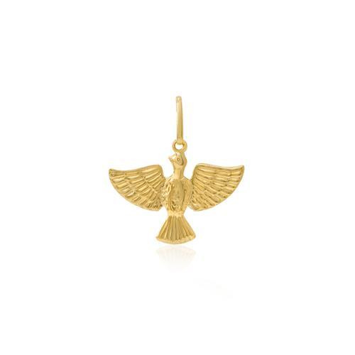 Pingente Espírito Santo, em Ouro Amarelo