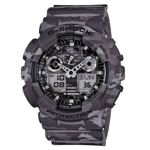 c90ebc8646a Relógio Masculino Casio G-Shock Ana-Digi GA100CM4ADR Camuflado