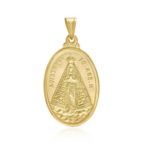 Pingente Nossa Senhora em Ouro Amarelo