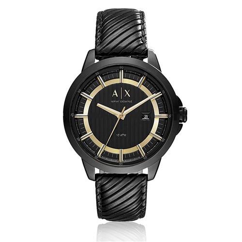 40886b2768bfe Relógio Masculino Armani Exchange Analógico AX2266 8PN Couro Preto