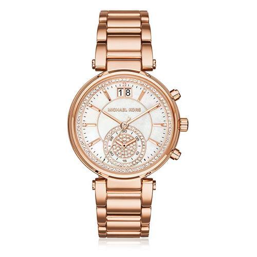 55aad124a32 Relógio Feminino Michael Kors Analógico MK6282 4BN Rose com Cristais