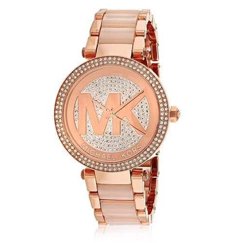 Relógio Feminino Michael Kors Analógico MK6176 4TN Aço Rose 9cb7845612