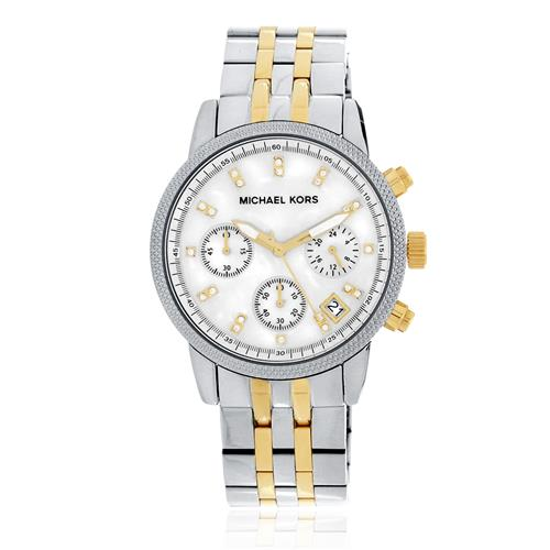 f0b38753dbf21 Relógio Feminino Michael Kors Analógico MK5057 5BN Aço Misto