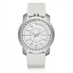 Relógio Masculino Diesel Analógico DZ1752/0BN Couro Branco