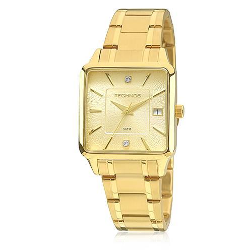 0c72ae15af658 Relógio Feminino Technos Elegance Ladies Analógico 2315ABT K4D dourado com  cristais