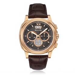 Relógio Masculino Bulova Analógico WB31818P Couro Marrom