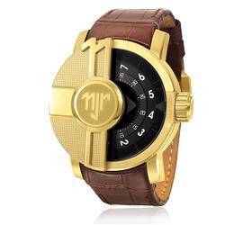 aa7f0074551 Relógio Masculino Champion Neymar Jr. Automático NJ30042C Couro Marrom