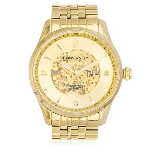 9cf3b67a0a0 Relógio Constantim Automatic ZW20118G Gents Gold