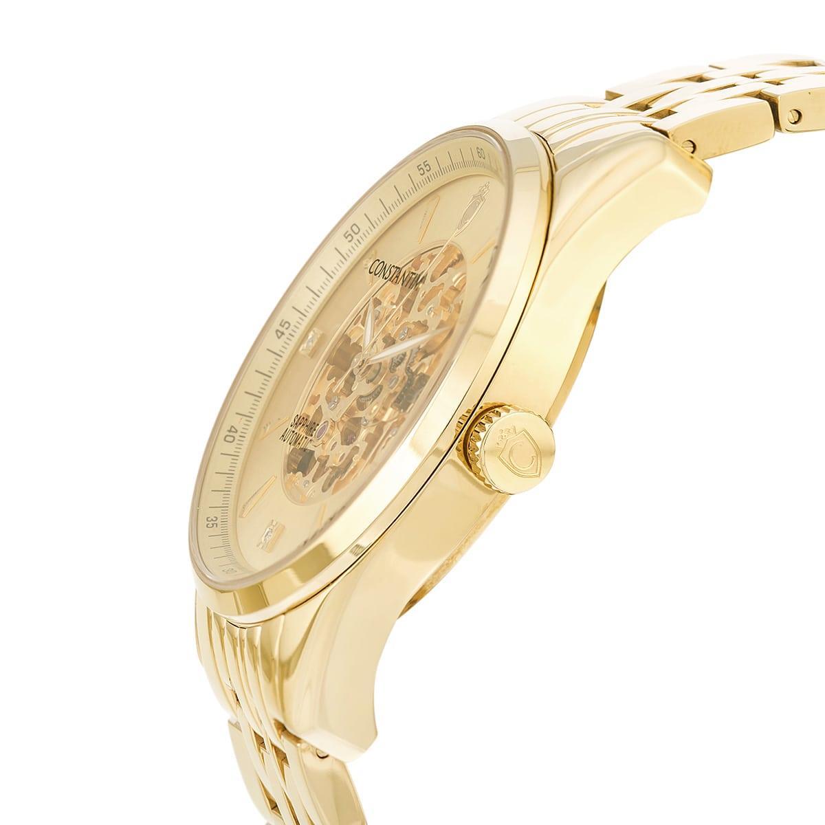 68a1e49fbdd Relógio Constantim Automatic ZW20118G Gents Gold