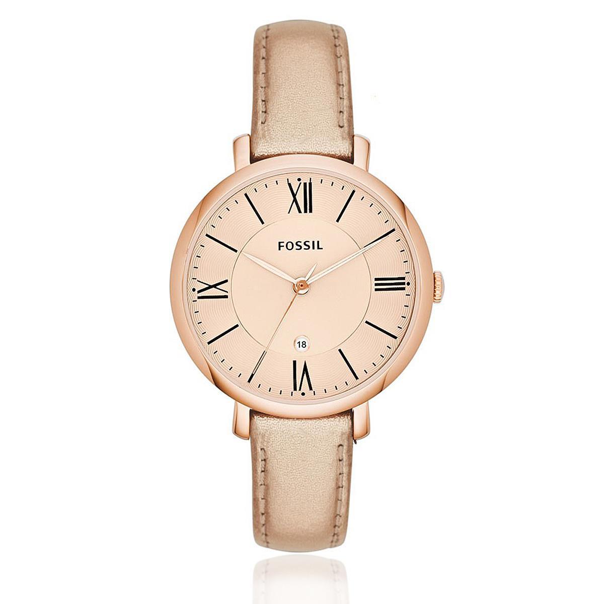 Relógio Feminino Fossil Jacqueline Three-Hand Analógico ES3438  2TN Rose 58c2bd8ab3