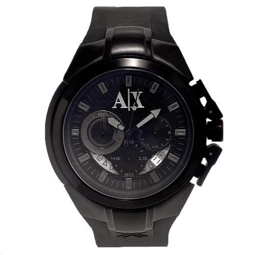0478cf76598 Relógio Masculino Armani Exchange Analógico UAX1050Z Preto