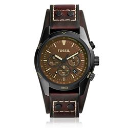 Relógio Masculino Fossil Analógico CH2990/0MN Couro Marrom