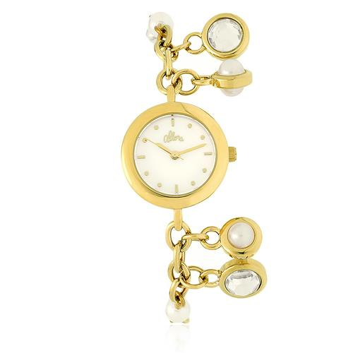 Relógio Feminino Allora Analógico AL2035EZK/4B Dourado