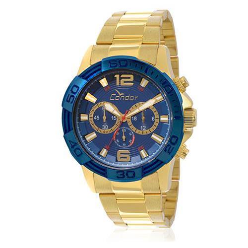 Relógio Masculino Condor Analógico COVD54AA/4A Fundo Azul