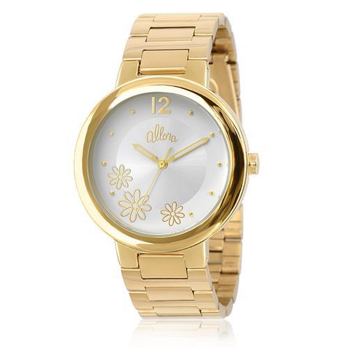 890ad9f1d8c Relógio Feminino Allora Analógico AL2035KC 4K Dourado