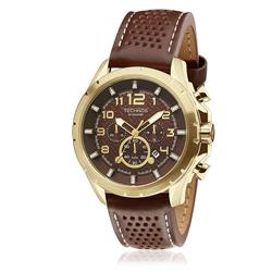 Relógio Masculino Technos Skymaster JS25BG/0M Couro Marrom