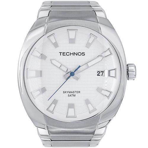 Relógio Masculino Technos Performance Skymaster Analógico 2415BJ 1K Aço 1c4b6428d2