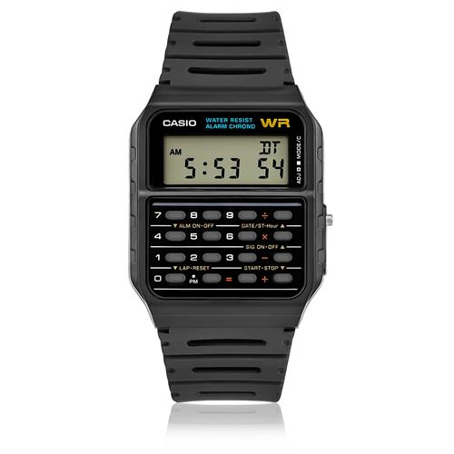 3da303cb012 Relógio Casio Calculadora Vintage Digital CA53W1ZU Preto