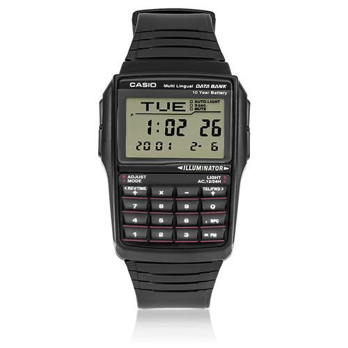 cdfa9610546 Relógio Casio Data Bank Digital DBC321ADFU Preto